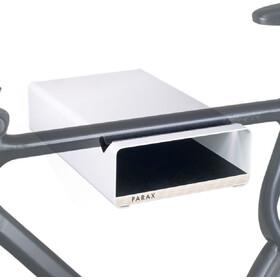 PARAX S-Rack Wandhalterung Aluminium weiß/schwarz